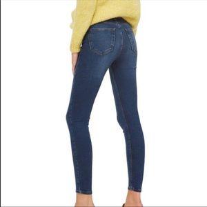 TopShop Jamie High Rise Skinny Jeans 28X34 EUC